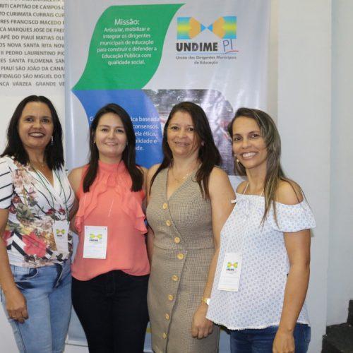 Coordenadoras Pedagógicas e secretária de Educação de Simões, participam do 1º seminário do SAEB em Teresina