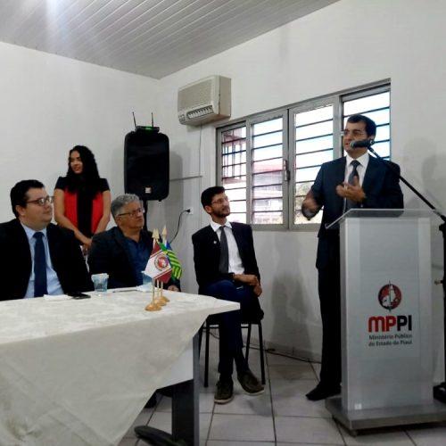 Ministério Público do Piauí inaugura sala no Fórum de Inhuma