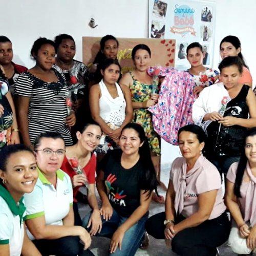 CRAS de Alagoinha promove Encontro de Gestantes com palestra e sorteio de brindes