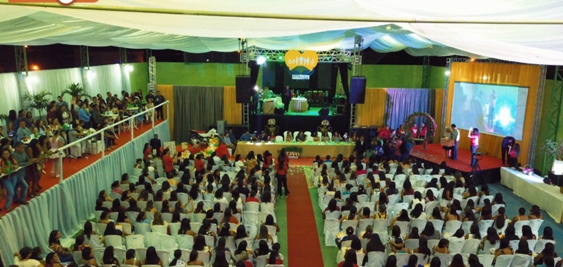 FOTOS | Festa em homenagem as mães da Secretaria de Assistência Social de Geminiano
