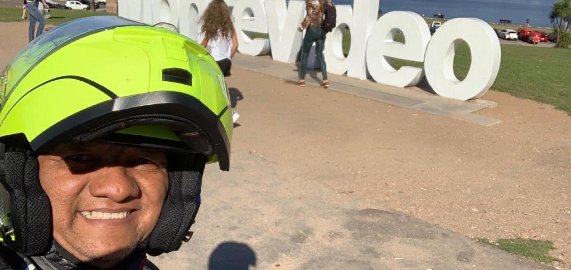 """Piauiense percorre uma das estradas mais perigosas do mundo de POP; """"É prazeroso conhecer lugares, culturas e pessoas"""" diz Agnaldo"""