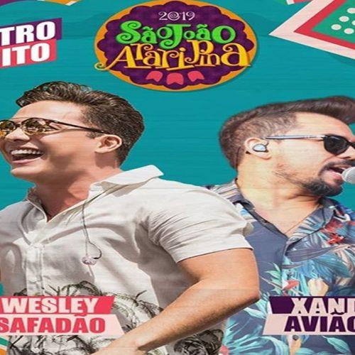 Xand Avião e Wesley Safadão serão atrações de abertura do São de Araripina 2019
