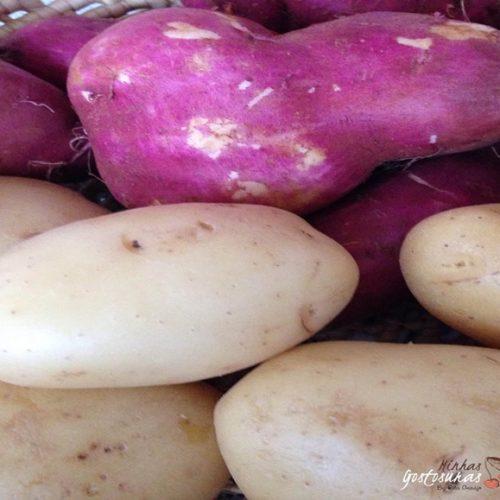 Descubra qual é a mais saudável, batata doce ou normal