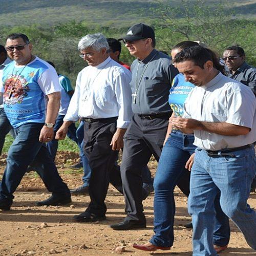 CURRAL NOVO   Bispos do Piauí visitam comunidades impactadas pela mineração e transnordestina