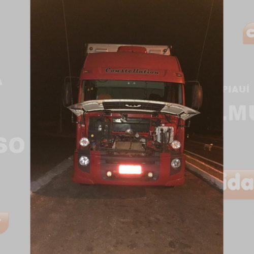PRF recupera veículo clonado na cidade de Alegrete do Piauí