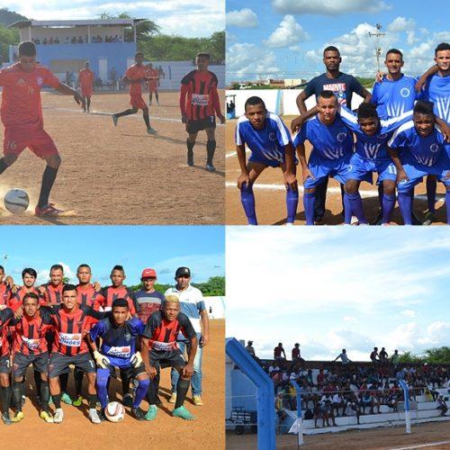 Campeonato de Futebol de Simões reúne um grande público na rodada do feriado; veja os resultados
