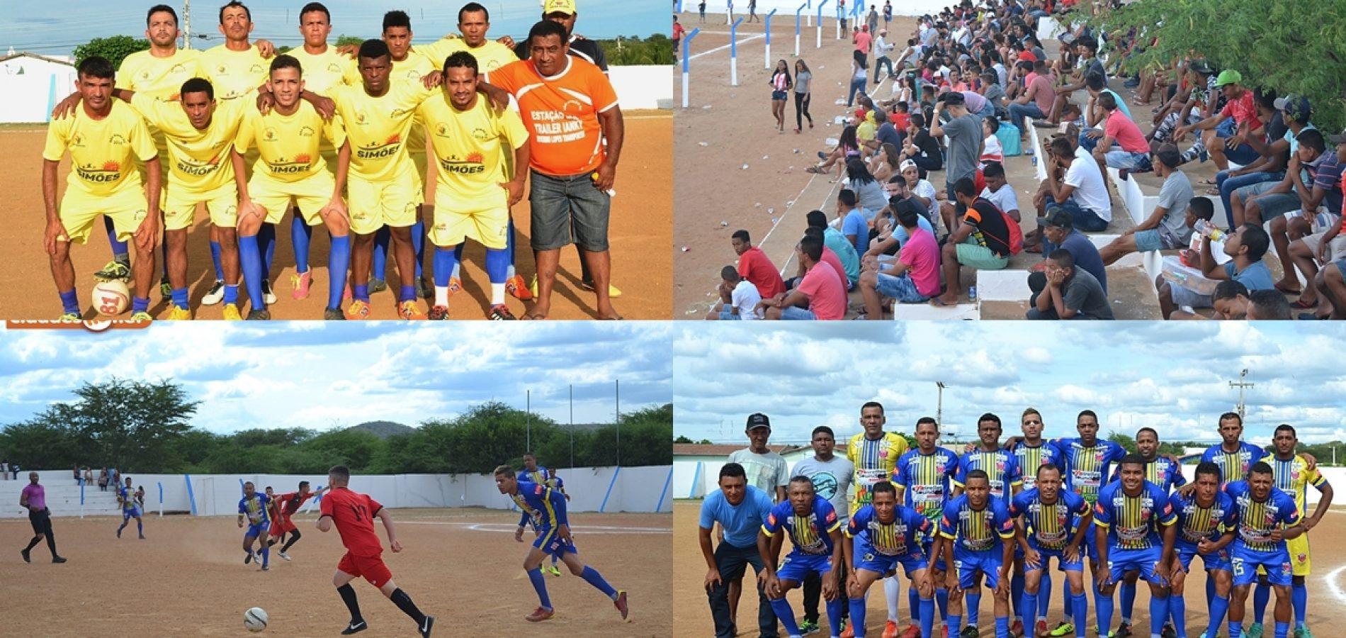Municipal de Futebol Amador chega a 4ª rodada em Simões; veja os resultados