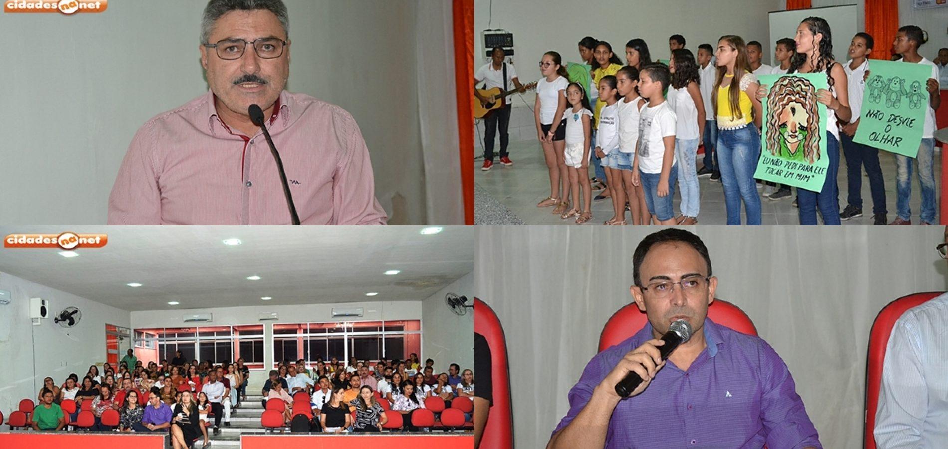 """Prefeitura de Simões promove """"Seminário de Enfrentamento à Violência Contra Crianças e Adolescentes"""""""