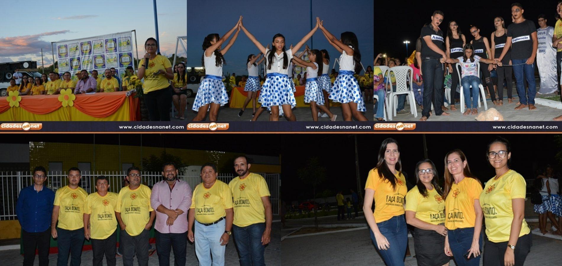 Belém do Piauí realiza evento de enfrentamento e combate ao abuso sexual de crianças e adolescentes