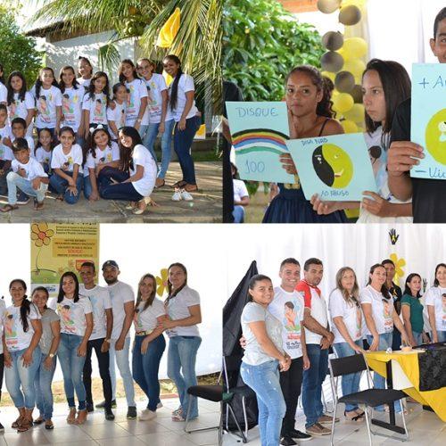 Assistência Social de Caridade realiza atividades alusivas ao 18 de Maio na escola Maria Juscelina