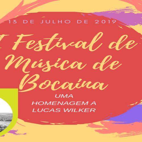 Em Bocaina, 1º Festival de Música está com inscrições abertas. Inscreva-se!
