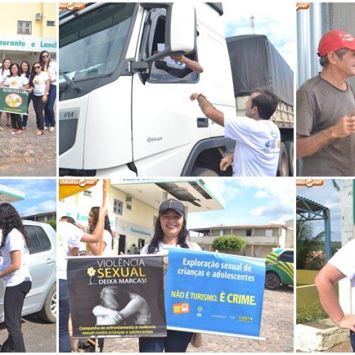 Assistência Social de Francisco Macedo promove Blitz Educativa em alusão ao 18 de Maio