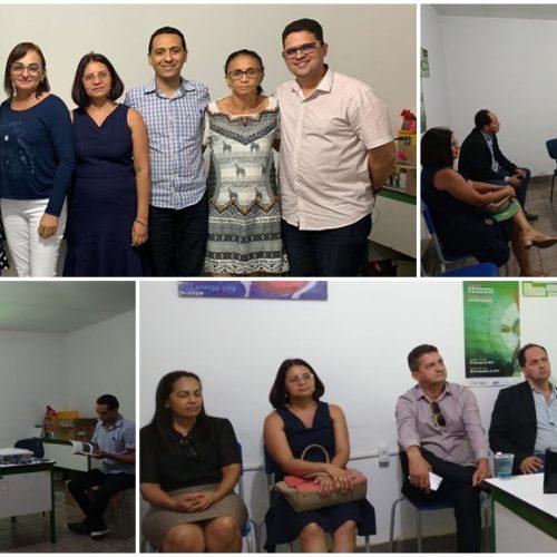 Secretário de Educação de Inhuma é apresentado como coordenador da Undime Regional de Valença; reunião discute estratégias e inclusão de municípios