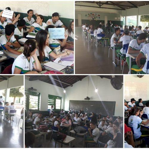 Escola Estadual Nossa Senhora do Patrocínio em Pio IX, sofre com superlotação em salas de aulas
