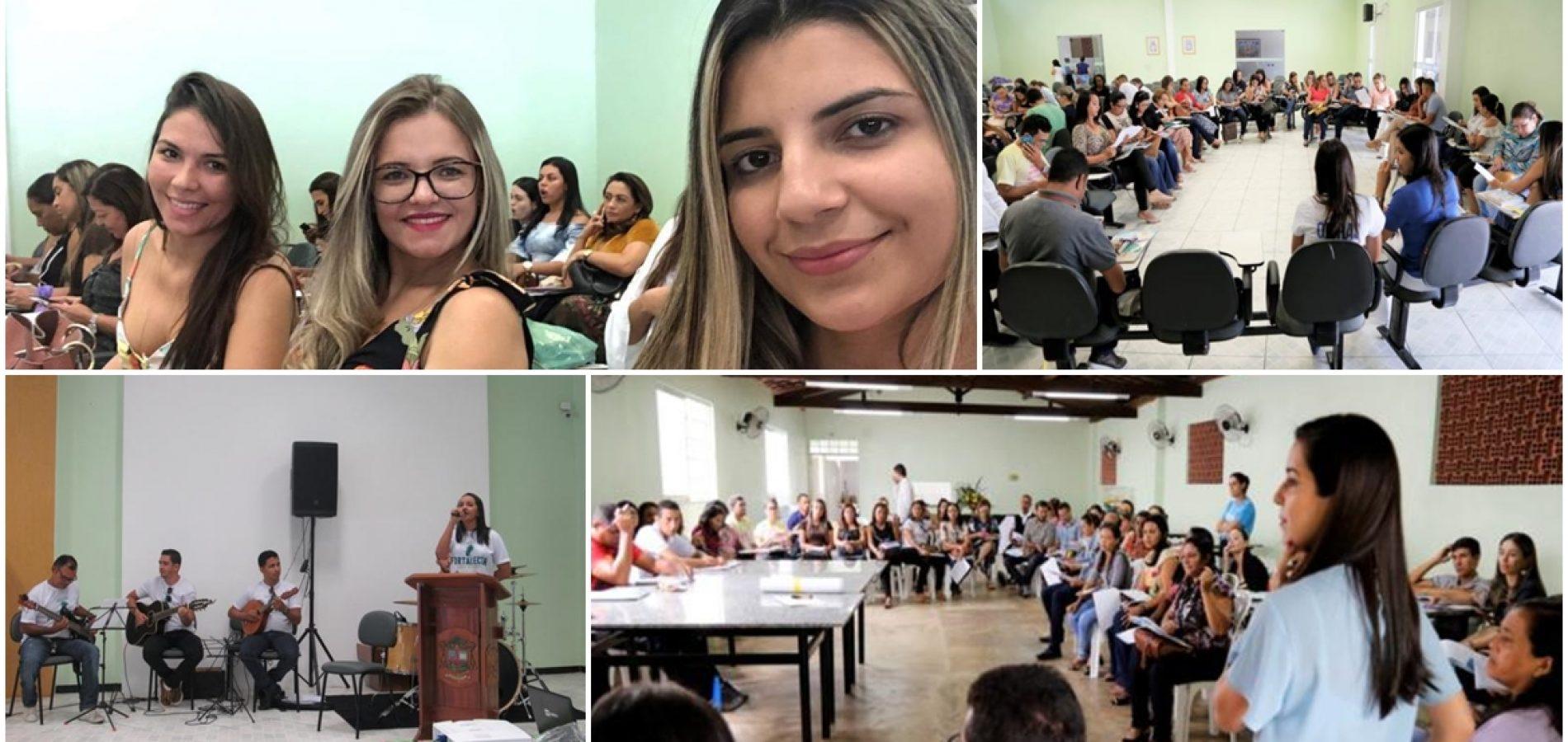 Em Oeiras, assistentes sociais de São Julião participam do 4º Ciclo de Capacitação do Selo Unicef