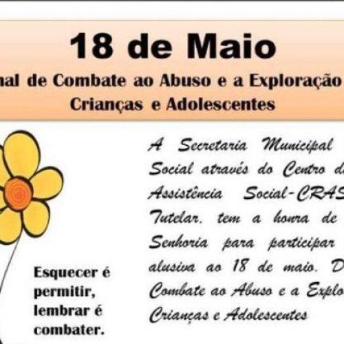 SÃO JULIÃO│Gestão do prefeito Dr. Jonas Alencar promoverá passeata alusiva ao 18 de maio neste sábado (25)