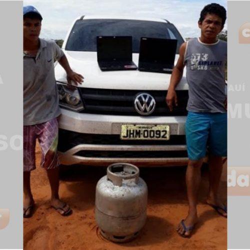 Polícia prende suspeitos de furtar posto de saúde em cidade do Piauí