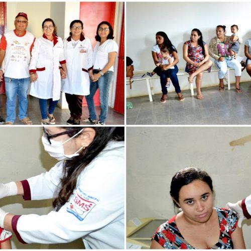 """Saúde de Alegrete realiza Dia """"D"""" da campanha de vacinação contra Influenza H1N1"""