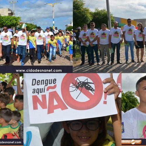 BELÉM | Saúde realiza mobilização de combate ao aedes aegypti com caminhada e laboratório móvel