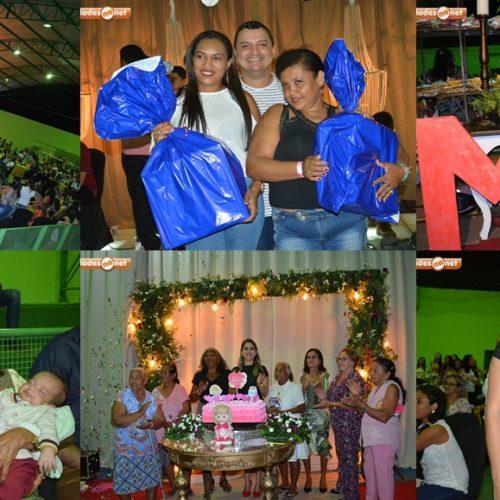 Educação de Geminiano homenageia 600 mães com grande festa