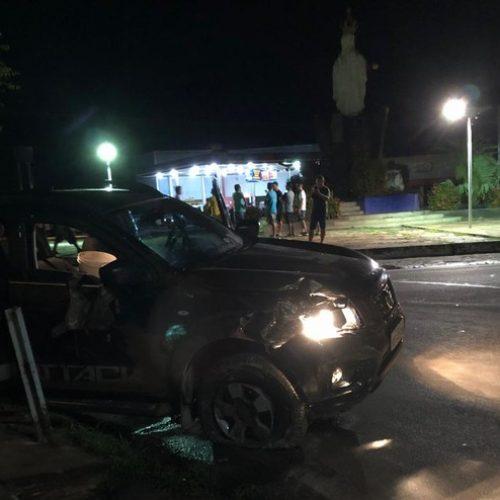 Bando suspeito de explodir agências  atira contra policiais militares durante fuga