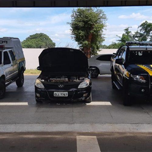 Motorista com carro clonado é preso na BR-316 em Valença