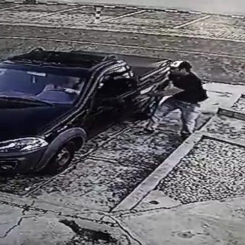 Suspeito usa chave de roda para manter mulher refém por mais de 3 horas