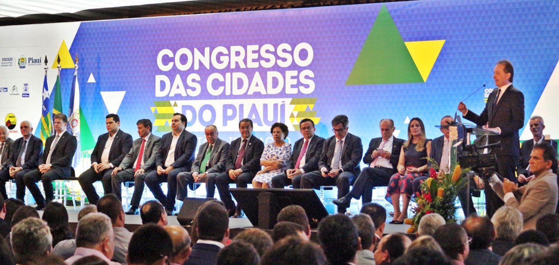 II Congresso das Cidades é iniciado com a participação de mais de 200 prefeitos