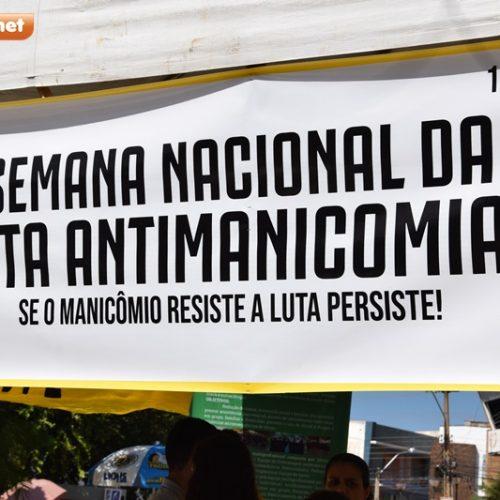 Caps Itinerante: Saúde de Picos comemora Dia da Luta Antimanicomial