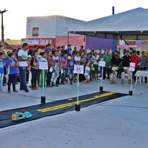 Massapê do Piauí adere ao 'Maio Amarelo' e realiza mobilização de educação para o trânsito