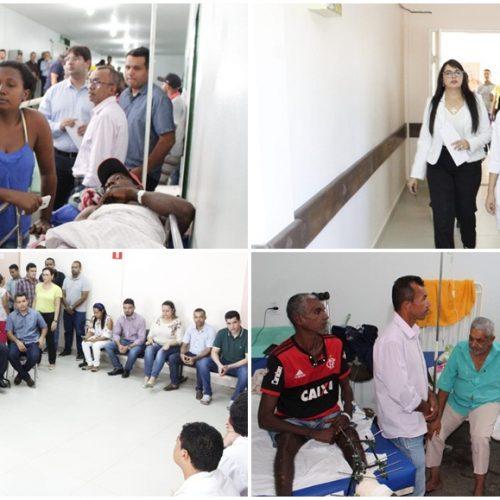 Hospital de Floriano tem déficit mensal de R$ 1,1 milhão e dívida de R$ 7 milhões