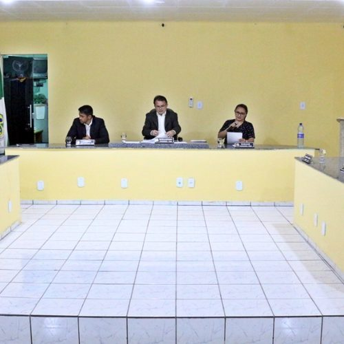 Veja a pauta da sessão desta sexta-feira (21) da Câmara de Belém do Piauí