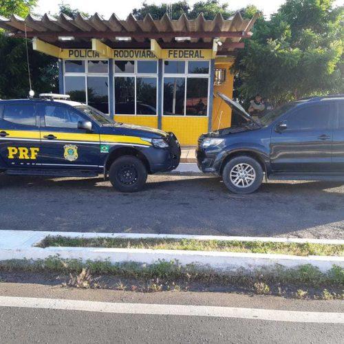 PRF e PM prendem homem com veículo clonado em Alegrete do Piauí