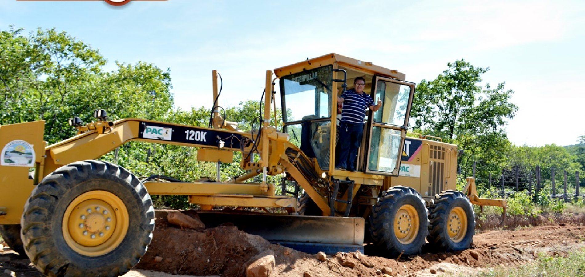 Estradas vicinais de Francisco Macedo serão todas recuperadas; diz prefeito Nonato Alencar