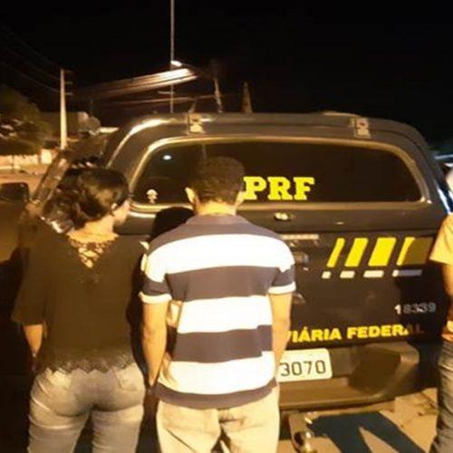 Trio é preso transportando drogas de Teresina para Picos