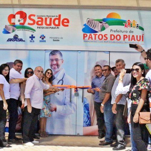 Em Patos, prefeito Agenilson inaugura nova UBS; serviços serão ampliados e qualificados