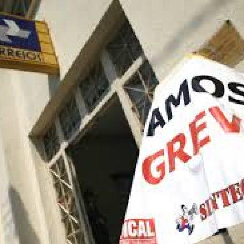 Trabalhadores dos Correios deflagram movimento grevista em Teresina