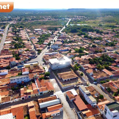DO ALTO | Veja imagens aéreas da cidade de Inhuma Piauí; terra de um povo hospitaleiro e trabalhador