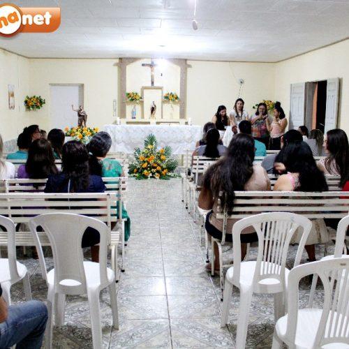 VILA NOVA   Festejo de São João Batista chega a 5ª noite de novena; moradores da comunidade Cacimbas foram os noitários