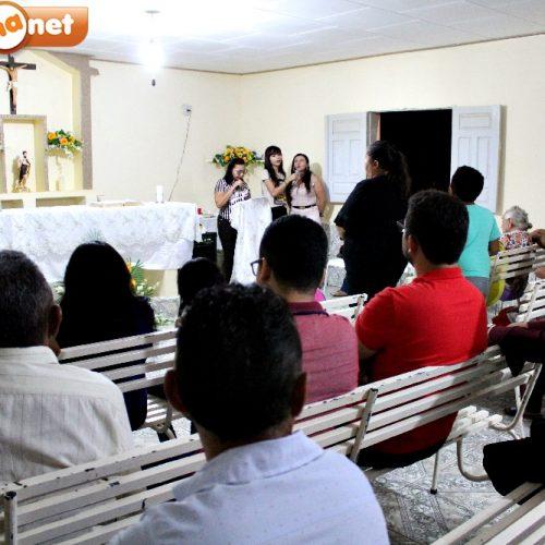 Em Vila Nova, Comunidade Católica de São João Batista celebra 7ª noite de novena