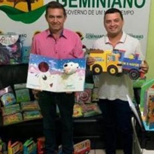 Secretaria de Educação de Geminiano irá inaugurar biblioteca infantil