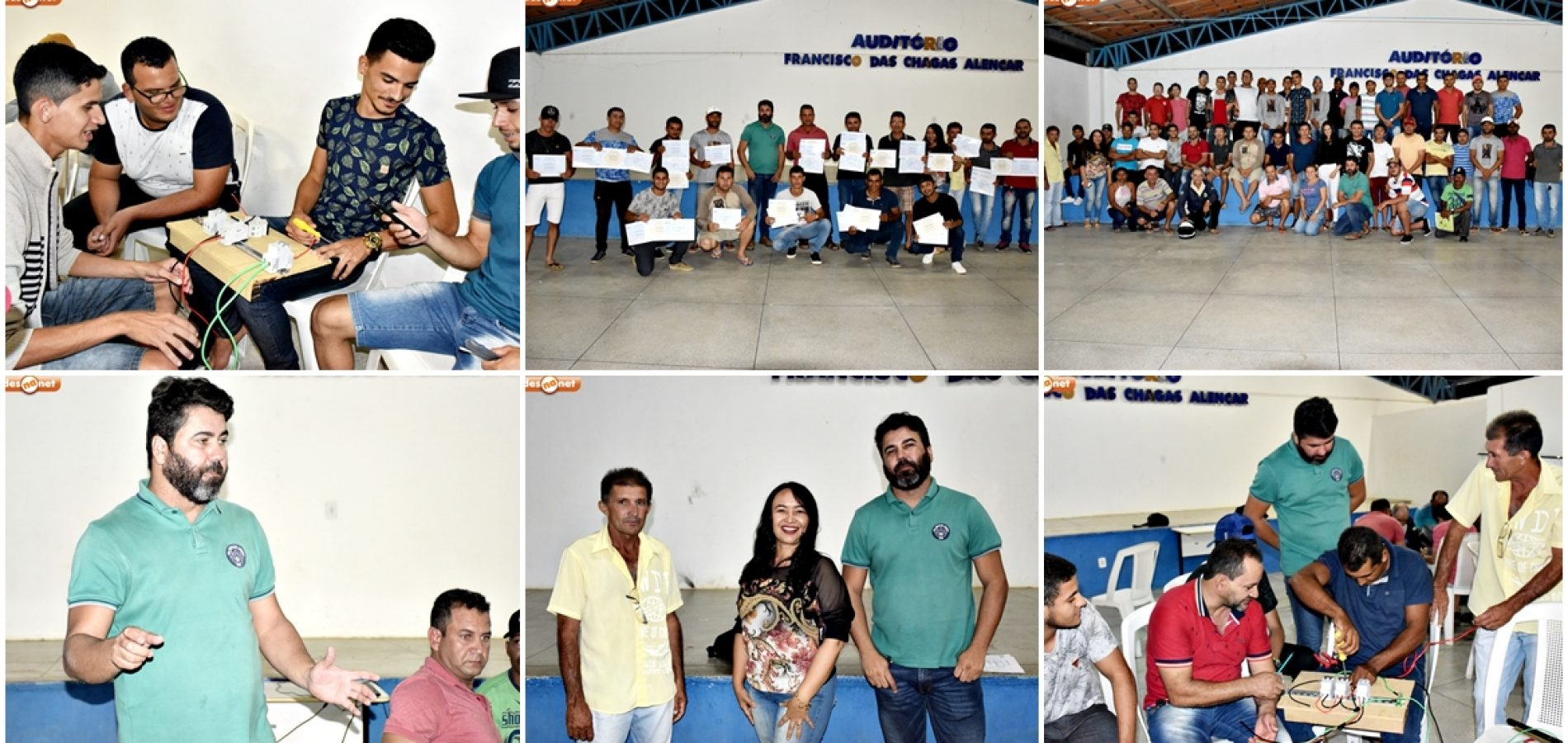 Gestão do prefeito Nonato Alencar em Francisco Macedo promove Curso Instalador de Energia Solar