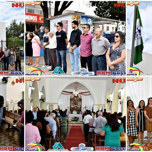 INHUMA 65 ANOS│Ato Cívico e missa celebram aniversário de emancipação política