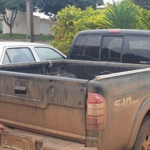 Caminhonete furtada em Picos é apreendida em Floriano