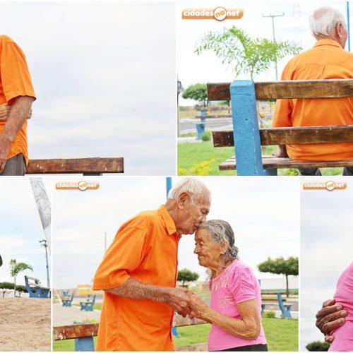 69 ANOS DE AMOR | Clicks do Mês de junho conta história de casal de Belém do Piauí; veja os registros!