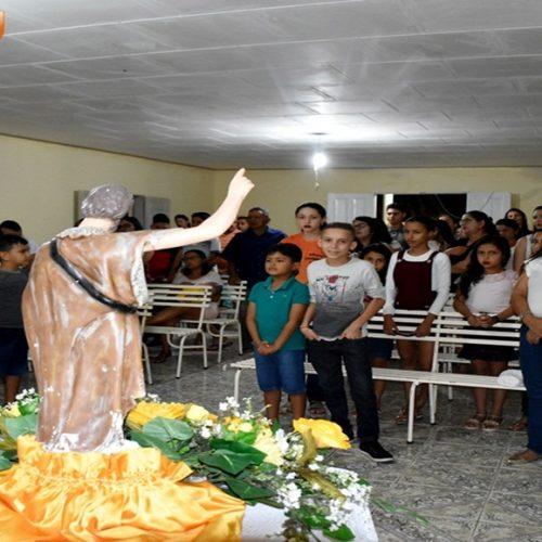 VILA NOVA   Educação e Comunidade Barreirinhos marcam novena e missa de São João Batista