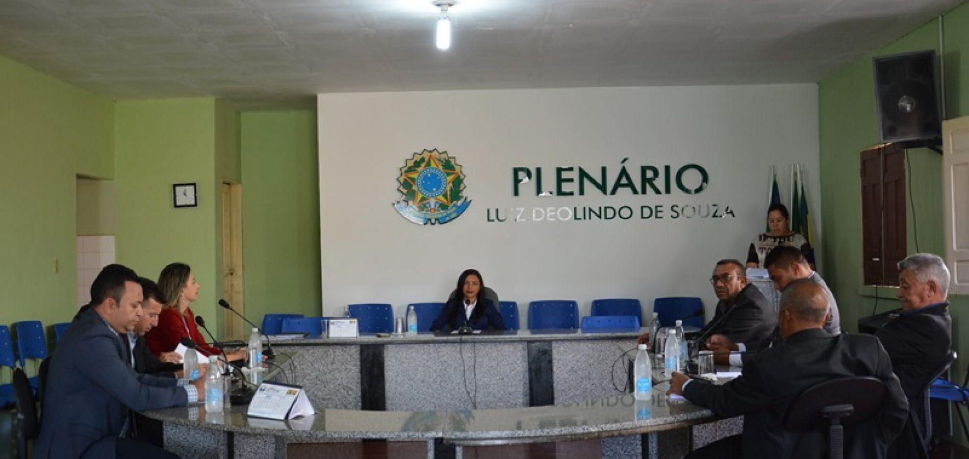 Projetos de Leis são aprovados pela Câmara municipal de Patos do PI
