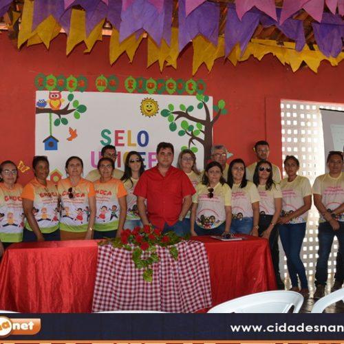 Comissão Intersetorialde Padre Marcos promove ReuniãoIntermediáriade Acompanhamento do Selo Unicef
