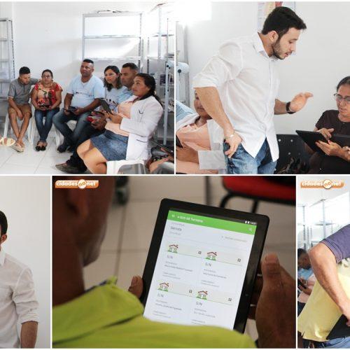 JAICÓS | Agentes Comunitários de Saúde são capacitados para manuseio de tablets