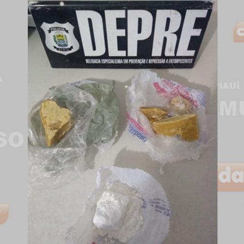 Acusados de tráfico de drogas são presos em ação da PM em Parnaíba